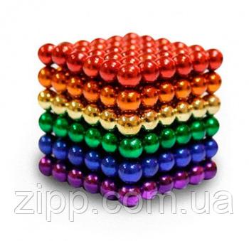 Куб Нео Neo Cube 5мм 216 шариков цветной