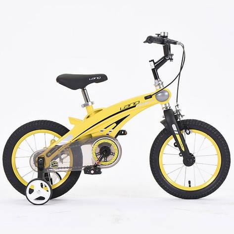 "Велосипед детский Lanq 16"" 39T Легкая магниевая рама, фото 2"