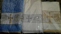 Полотенце детское крестильное, Турция, цвета и рисунки разные -  S 2151