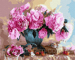 Картина по номерам  В вальсе лепестков (BRM27915) 40 х 50 см