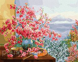 Картина по номерам  Весна в Японии (BRM27370) 40 х 50 см