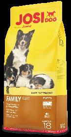 Josera JosiDog Family 18кг - корм для щенков всех пород от 2 недель, беременных и кормящих