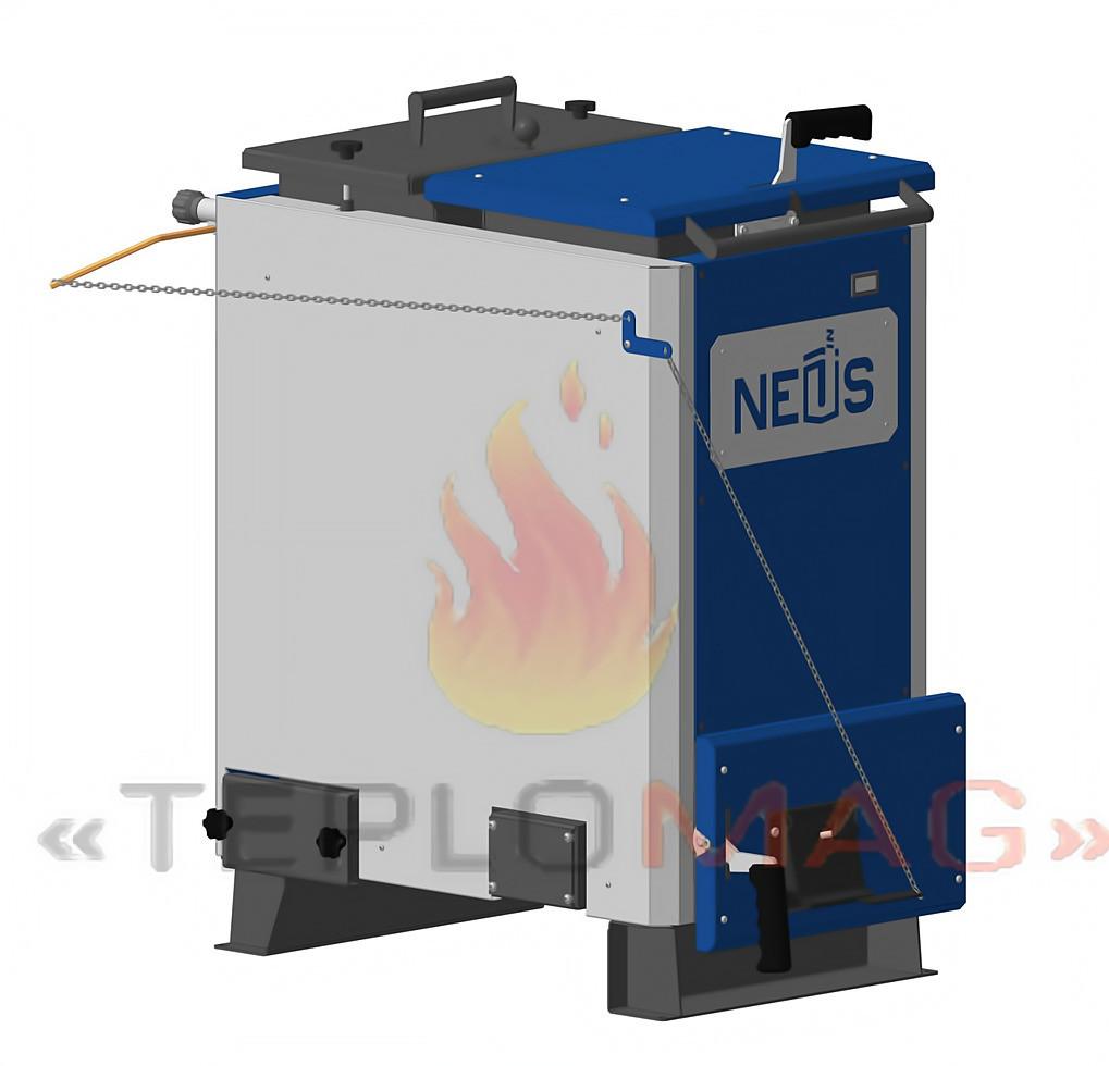 Котел шахтного типа нижнего длительного горения Neus Mine 16 кВт (Неус-Майн)