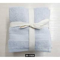 Набор полотенец 30*30 (5шт) Серые, 50-17626