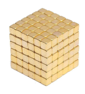 Нєо куб Neo Cube золотий квадрат