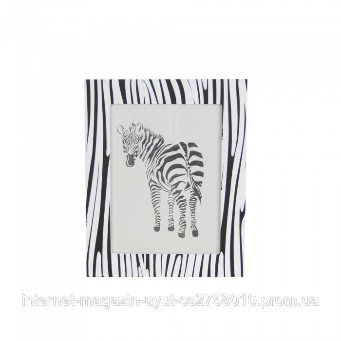 """Фоторамка настольная """"Zebra"""" ( 20*16 см )"""
