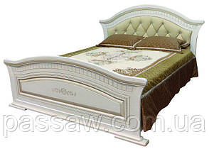 Кровать с ортопедическим каркасом  Николь 1,6 мягкое изголовье