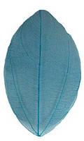 Сухой лист 12 синий для дизайна ногтей