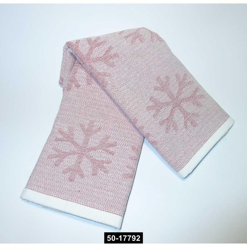 Набор полотенец Снежинки (2 шт), 50-17792
