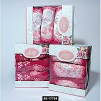 Набор полотенец Lovely розов. (3 шт), 49-17794
