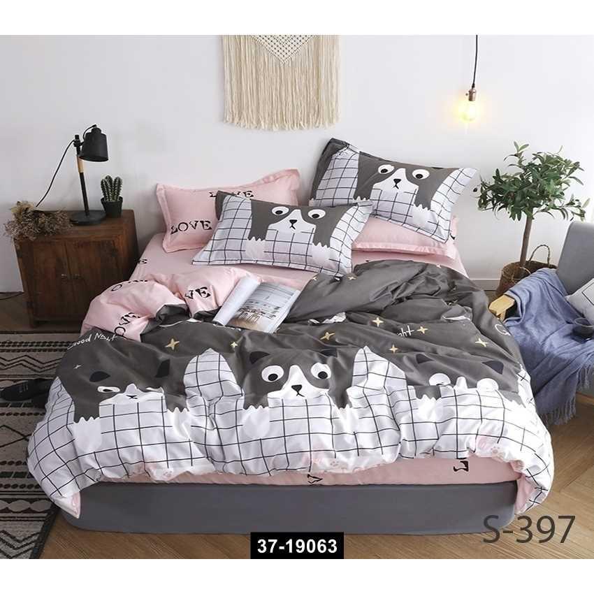 Комплект постельного белья с компаньоном S397, 37-19063