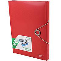Папка-картотека Leitz Bebop 45790025 с отделениями красная