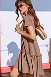 Платье оверсайз с воланом, фото 3