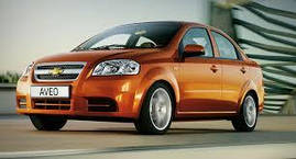 Коврики в салон Chevrolet Aveo (T200 , T250) 2004- передние