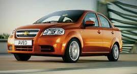 Коврики в салон Chevrolet Aveo (T200 , T250) 2004-