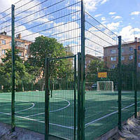 Спортивное панельное ограждение