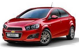 Коврики в салон Chevrolet Aveo (T300) 2011-
