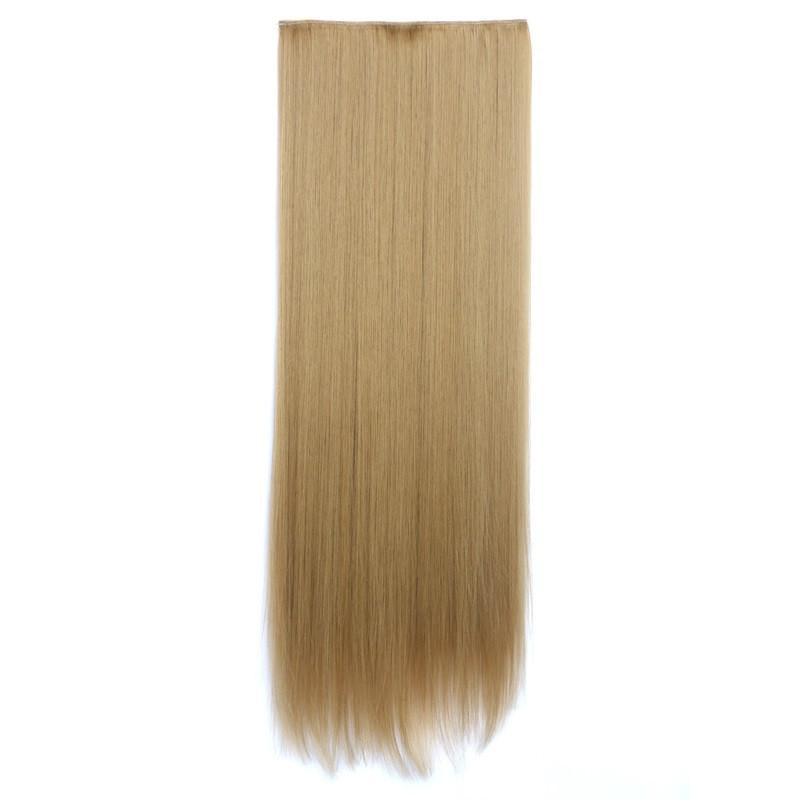 Искусственные волосы на заколках. Цвет #27х Пепельный блонд, фото 1