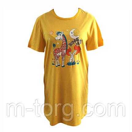 Річна піжама футболка розмір 42-52, фото 2