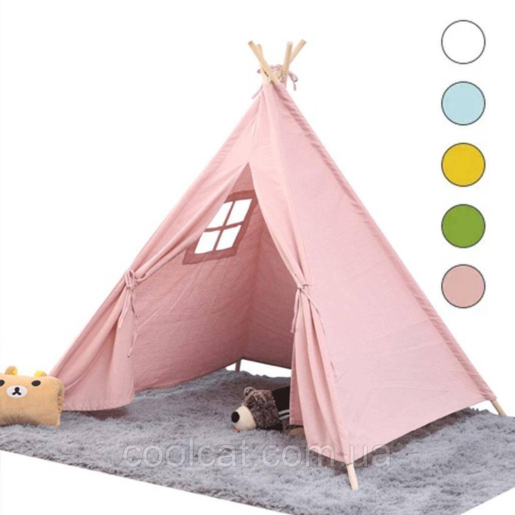 Вигвам \ Детская Игровая Палатка 136см