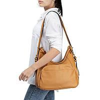 Женская повседневная сумка-рюкзак Sorella 1880 желтая