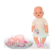 Лялька Пупс BB 8009-440 Маленька Ляля новонароджений з аксесуарами