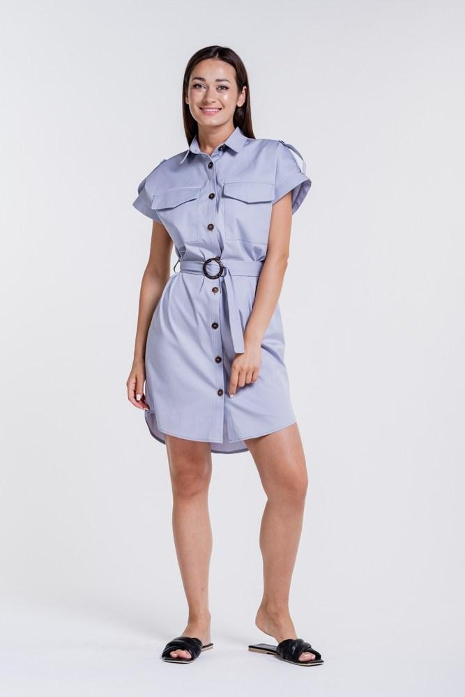 Женское платье рубашка размер S
