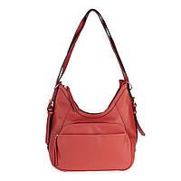 Женская повседневная сумка-рюкзак Sorella 1880 терракотовая