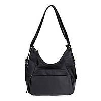 Женская повседневная сумка-рюкзак Sorella 1880 черная