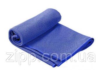 Рушник охолоджуючу LiveUp COOLING TOWEL, для охолодження тіла і зняття втоми, темно-синє