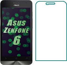 Защитное стекло Asus ZenFone 6 (2014) (Прозрачное 2.5 D 9H) (Асус Зенфон 6)