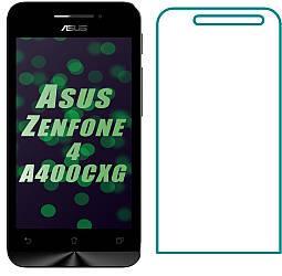 Защитное стекло Asus ZenFone 4 A400CXG (Прозрачное 2.5 D 9H) (Асус Зенфон 4)