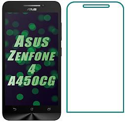 Защитное стекло Asus ZenFone 4 A450CG (Прозрачное 2.5 D 9H) (Асус Зенфон 4)