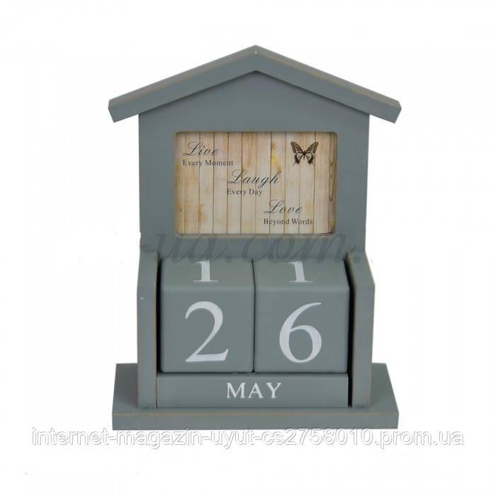 Вічний календар з фоторамкою 27*9*20 см,