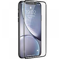 Защитное 5D стекло для Apple iPhone 11 полноэкранное на весь экран захисне скло на айфон 11 черное