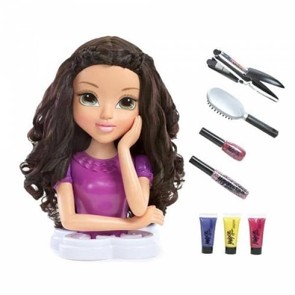 Zapf Moxie Girlz Кукла манекен Лекса Звездный стилист 562757 Magic Hair Styling Head Lexa