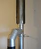 Труба-радиатор для дымохода 0,5 метра AISI 304 Версия Люкс, фото 3