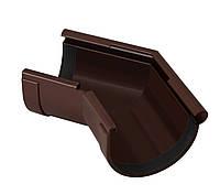 Угол желоба наружный коричневый 135° 130/100 RainWay, фото 1