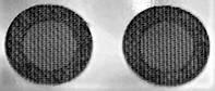 Сетка защитная фильтр для наушников и гарнитур 4.0 мм стальная, цвет черный, комплект 2 шт.