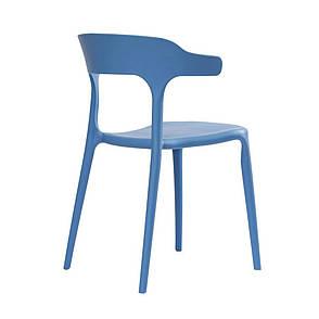 LUCKY (Лакки) CONCEPTO cтул пластиковый голубой, фото 2