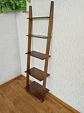 """Стеллаж лестница для гостиной из массива дерева """"Стелла"""" от производителя, фото 3"""