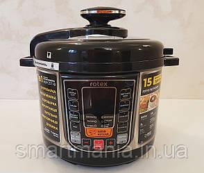 Мультиварка  Rotex REPC 57-B , 5 литров, 15 программ, 900 W