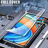 Защитное стекло дважды закаленное 9D для Xiaomi Redmi Note 9S / Note 9 Pro / Note 9 Pro Max, фото 4