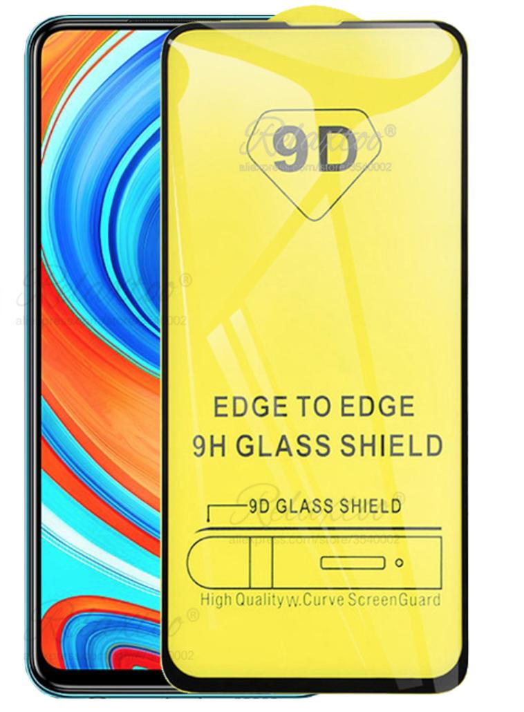 Защитное стекло дважды закаленное 9D для Xiaomi Redmi Note 9S / Note 9 Pro / Note 9 Pro Max