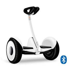 Мини сигвей гироскутер Ninebot Mini Robot Белый (White). Міні-сігвей гіроскутер Білий. Найнбот мини Робот, фото 2