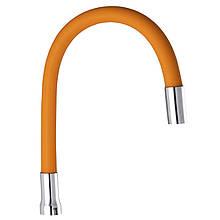 Излив (гусак) силиконовый оранжевый CHAMPION (GU0020)