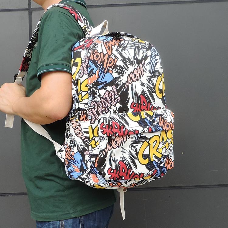 Рюкзак шкільний мультяшний Crash