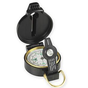 Оригинал Линзовый компас со свистком NDUR Lensatic Compass w/Whistle 51540