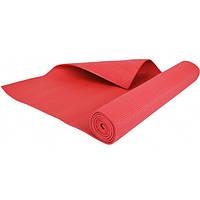 Мат тренировочный 173 x 61 х 0,4 см Hop-Sport красный коврик для фитнеса и йоги