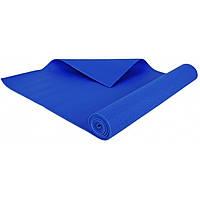 Мат тренировочный 173 x 61 х 0,3 см Hop-Sport коврик для фитнеса и йоги синего цвета